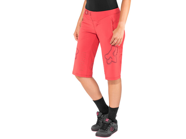 Fox Defend Baggy Shorts Women rio red